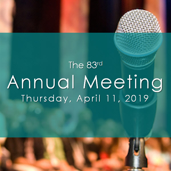 image for 83rd Annual Meeting blog post