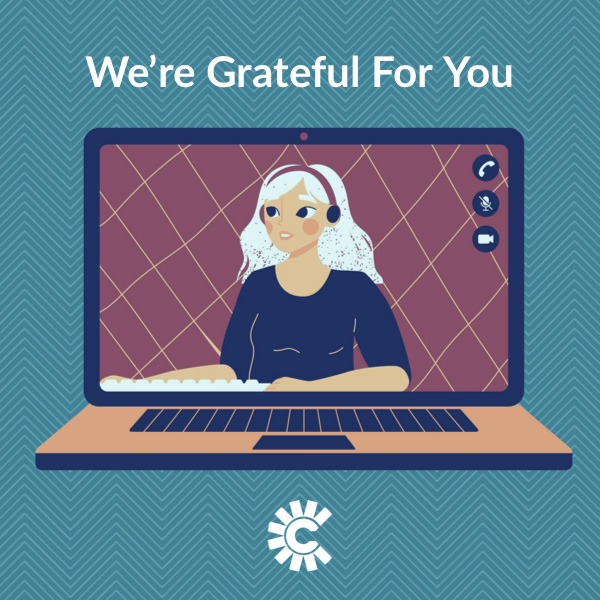 We're Grateful For You